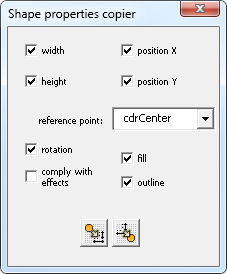 Copy / paste position, size, effects, fill or outline